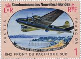 A New Hebrides aviation stamp